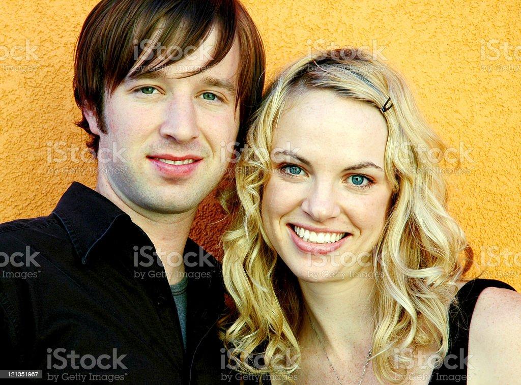 Beautiful Couple Looking at the Camera royalty-free stock photo