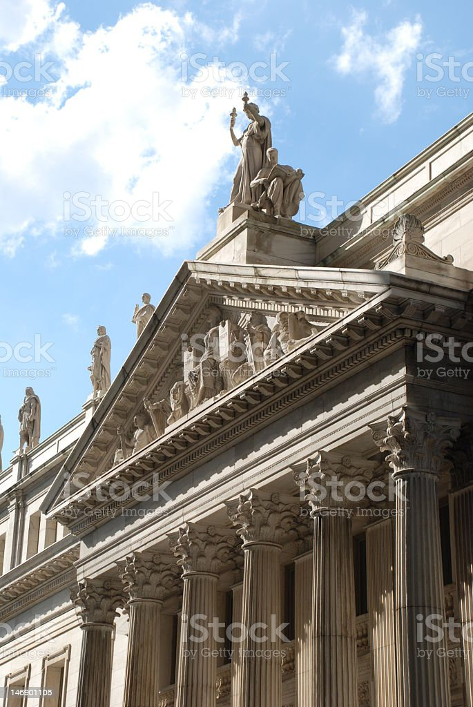 Beautiful Courthouse stock photo