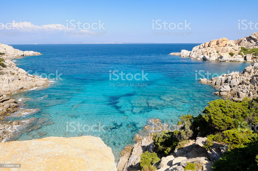 Beautiful Cove royalty-free stock photo
