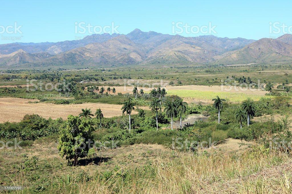 Beautiful Cuban landscape royalty-free stock photo