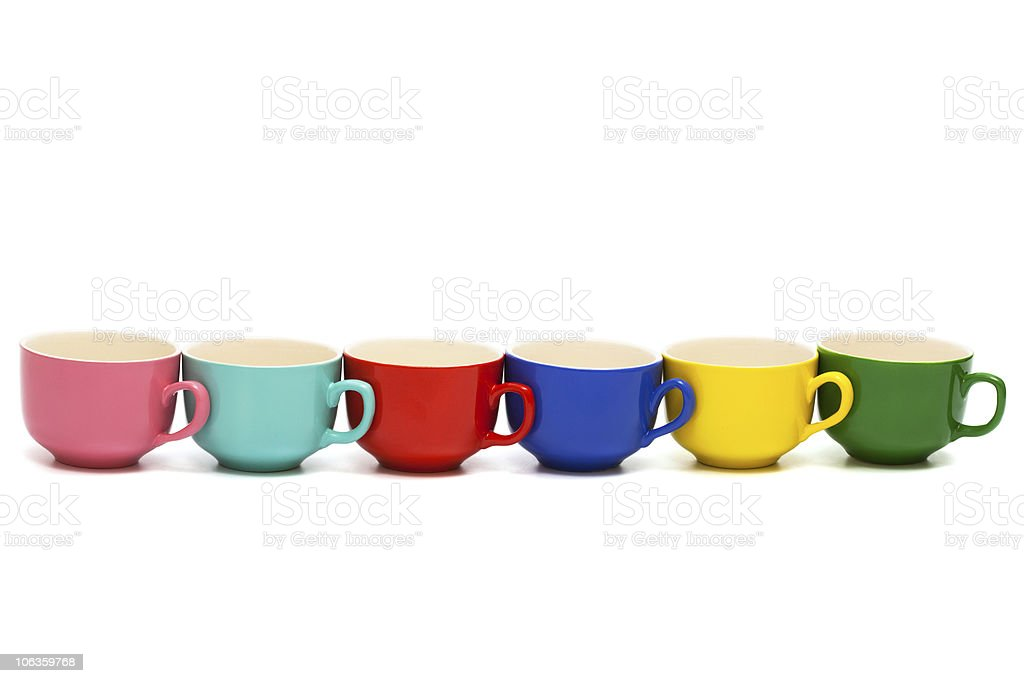 Beautiful cups royalty-free stock photo