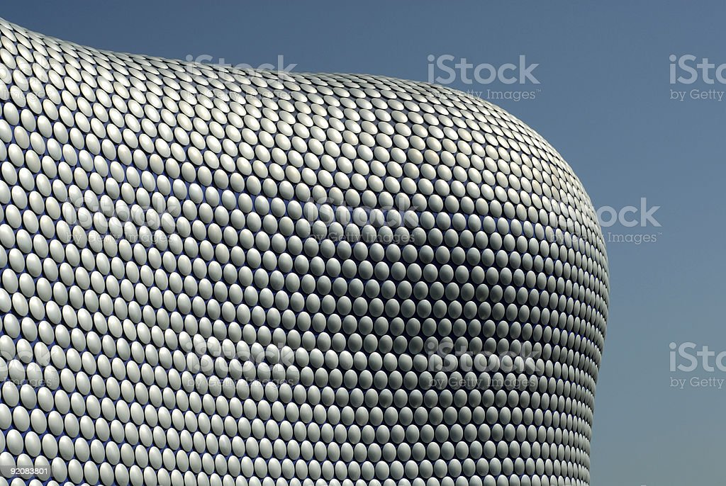 Beautiful Curved Modern Building royalty-free stock photo