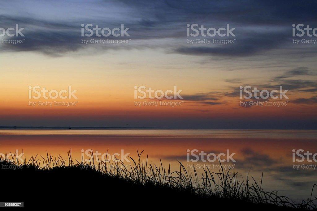 Beautiful dawn royalty-free stock photo