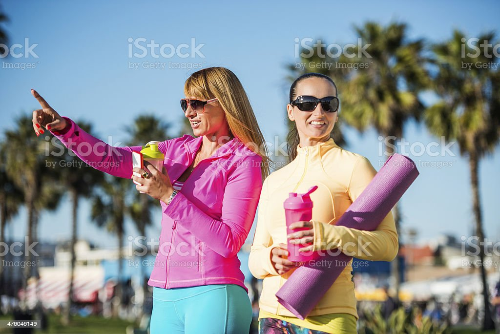 Beautiful day for exercise royalty-free stock photo