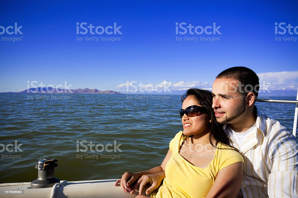 Beautiful Day for Sailing. royalty-free stock photo