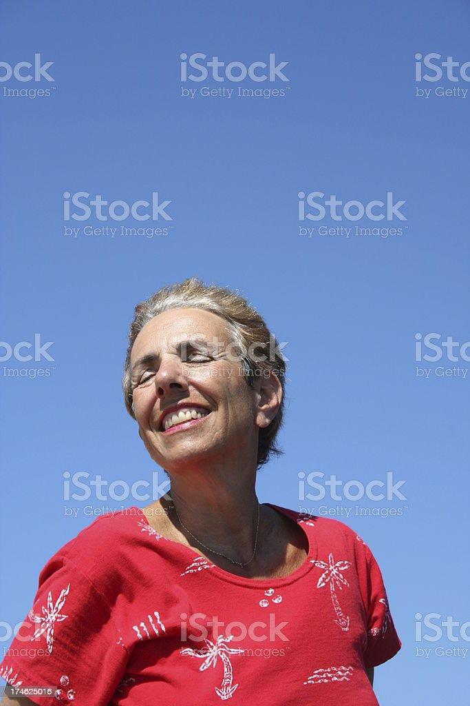 Belle journée, Great Smile photo libre de droits