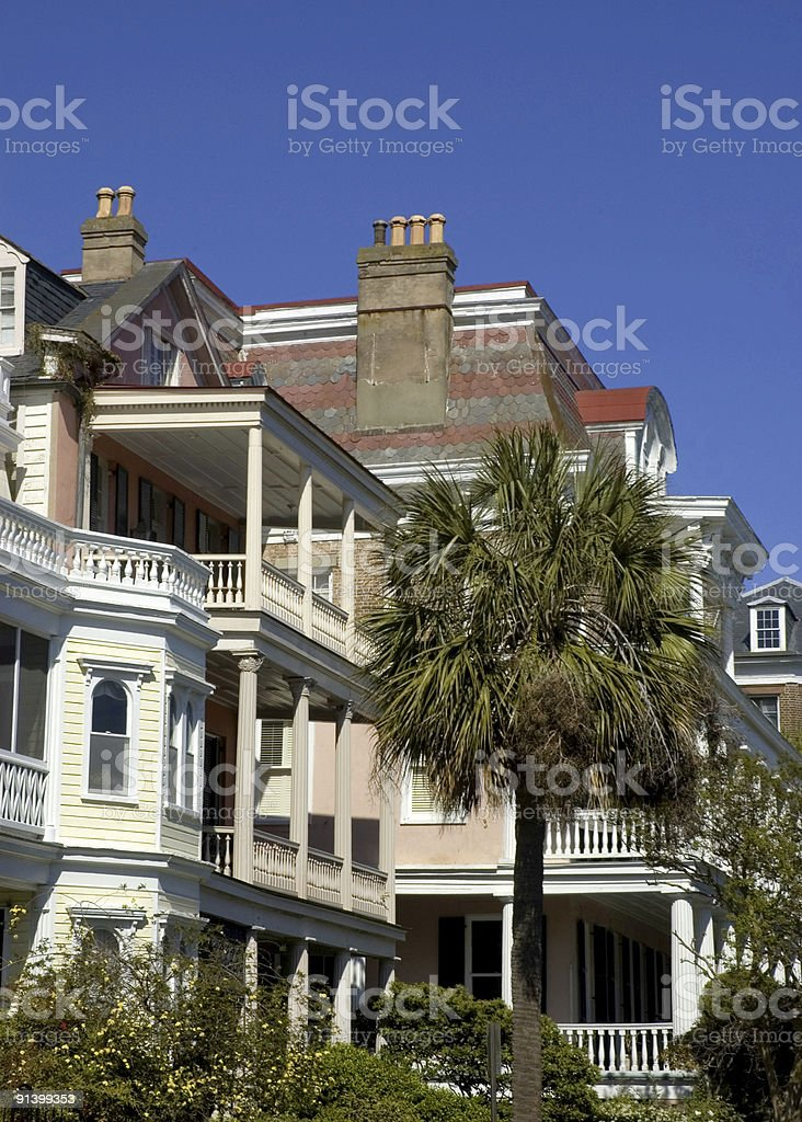 Beautiful Day in Charleston royalty-free stock photo