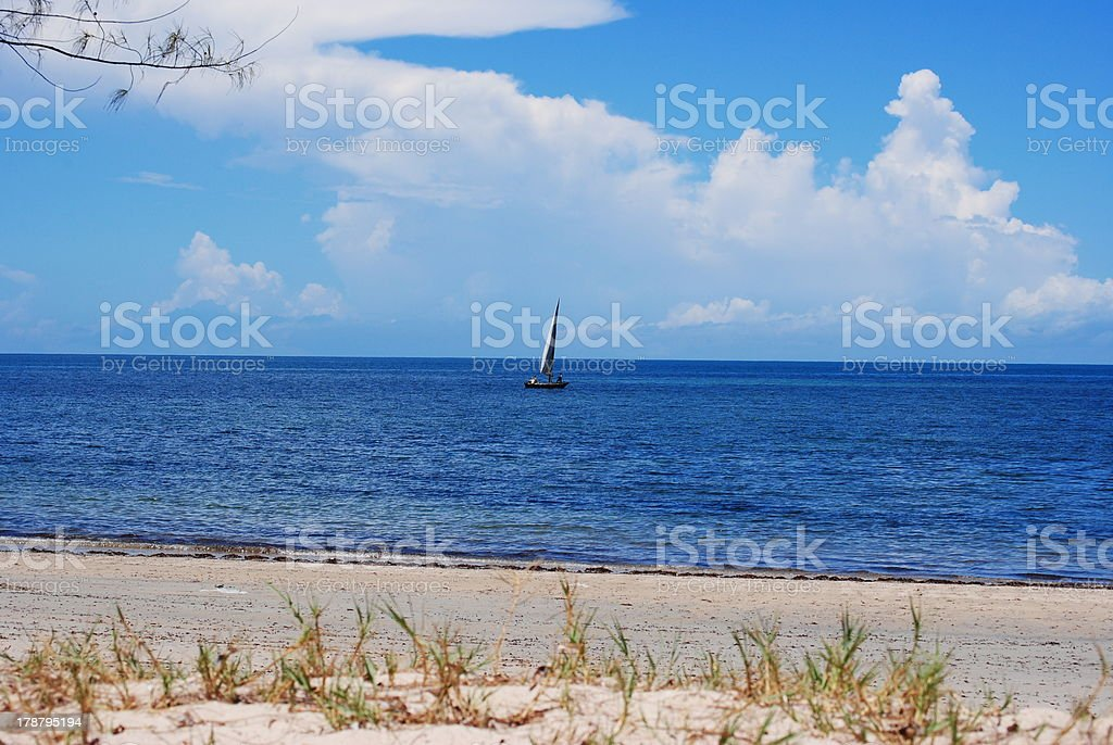 Beautiful Day in Paradise stock photo