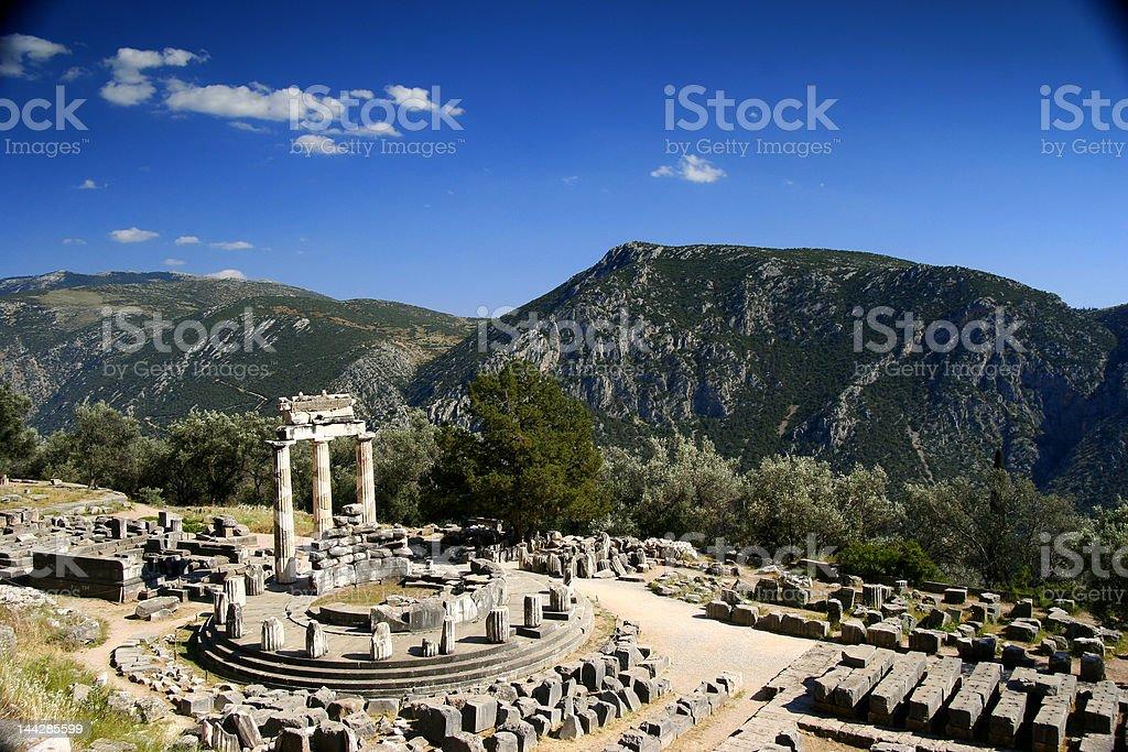 Beautiful Delphi stock photo