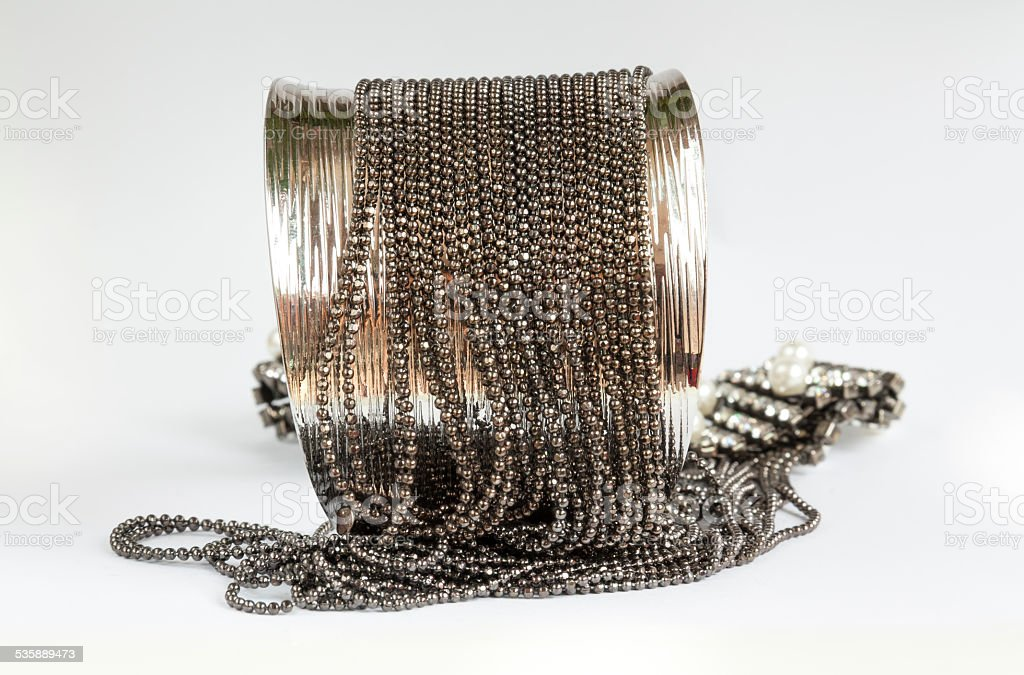 Beautiful design bracelet chain royalty-free stock photo