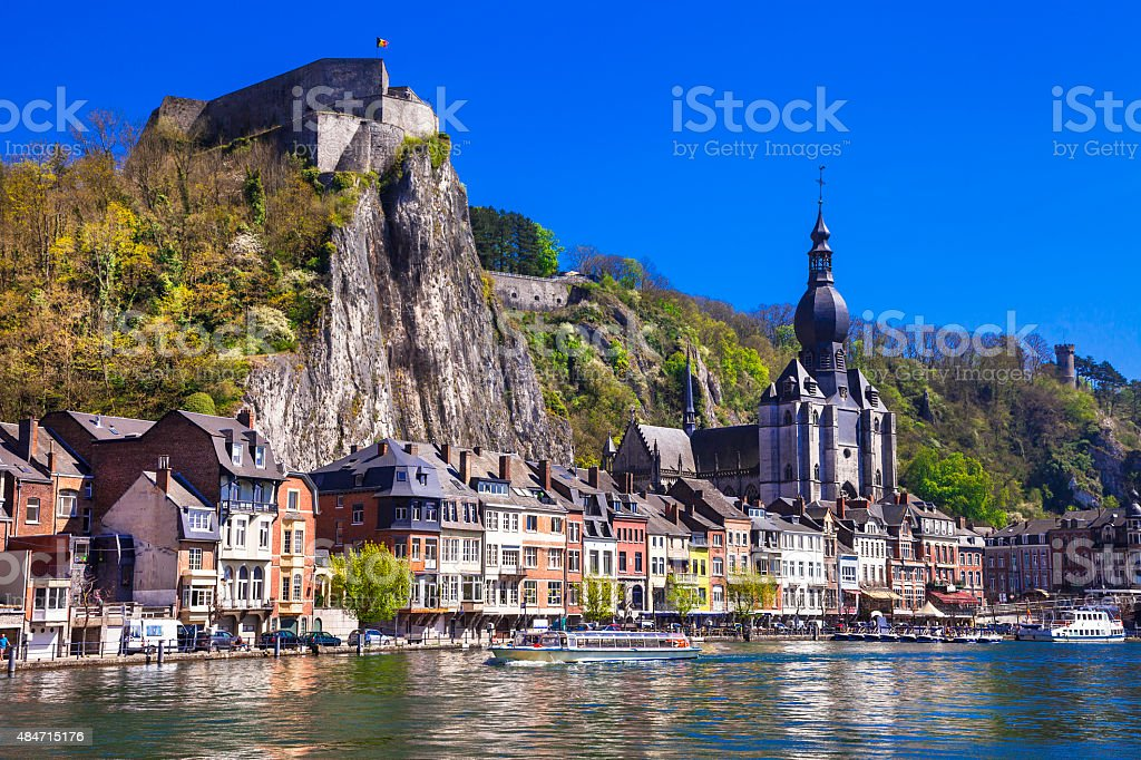 Beautiful Dinant,Belgium/ stock photo