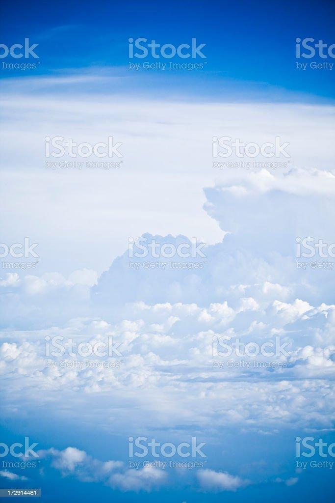 Beautiful Dreamlike Clouds royalty-free stock photo