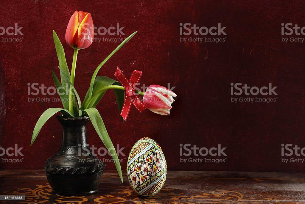 beautiful easter decoration royalty-free stock photo