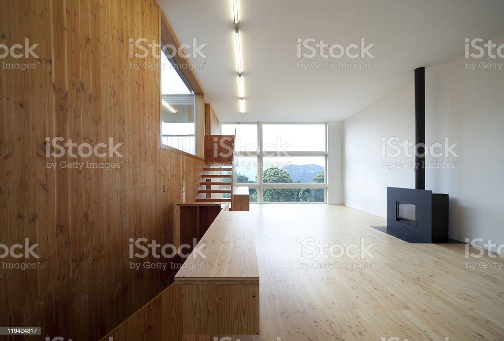 beautiful ecologic house royalty-free stock photo