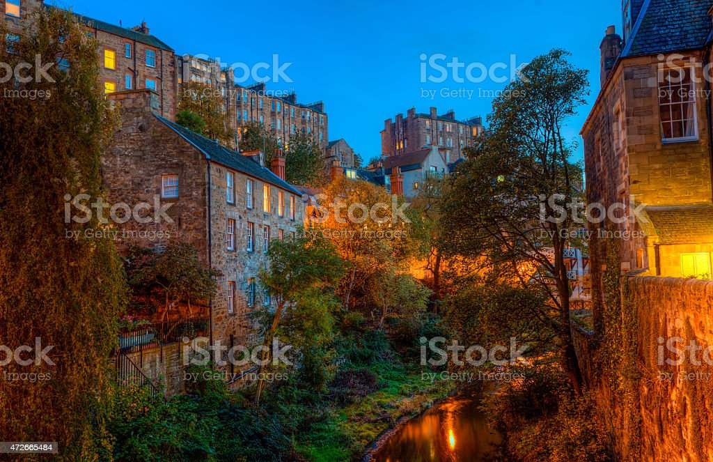Beautiful Edinburgh royalty-free stock photo