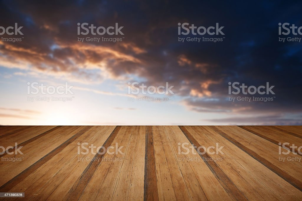 Beautiful English countryside landscape over rolling hills with stock photo