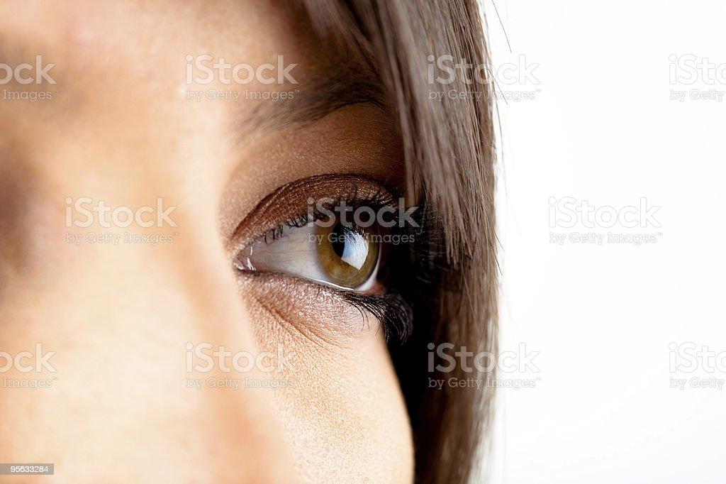 Beautiful eye royalty-free stock photo