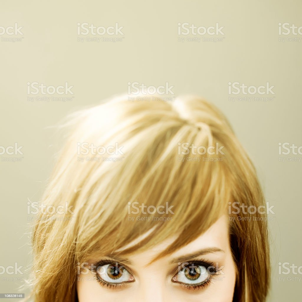 Beautiful eyes royalty-free stock photo