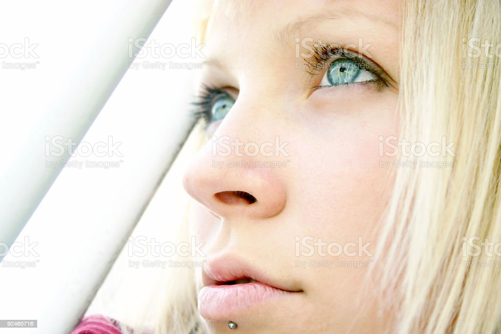 Beautiful eyes royalty-free stock photo