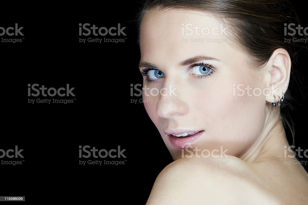 beautiful face royalty-free stock photo