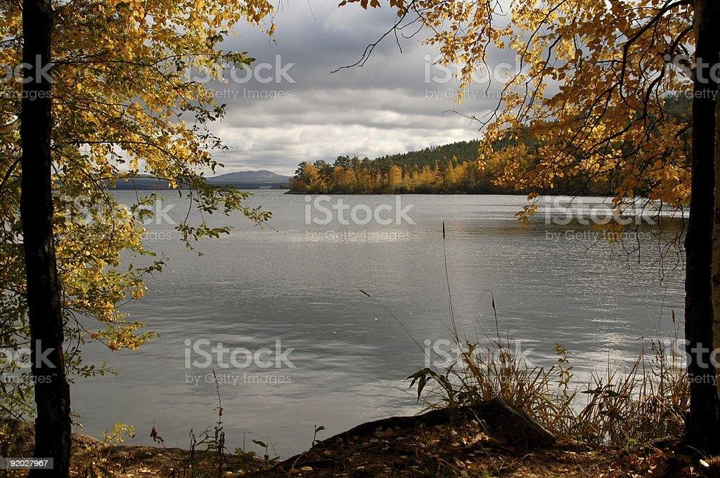 Piękna jesień Pejzaże zbiór zdjęć royalty-free
