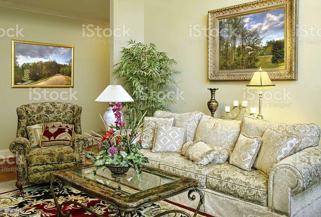 Magnifique chambre familiale photo libre de droits