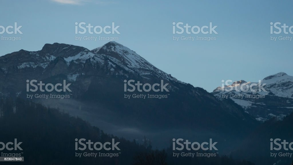 Beautiful famous city 'Interlaken'\ stock photo