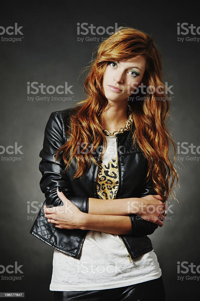 Beautiful fashion hairstyle. Sexy woman with long hair. royalty-free stock photo