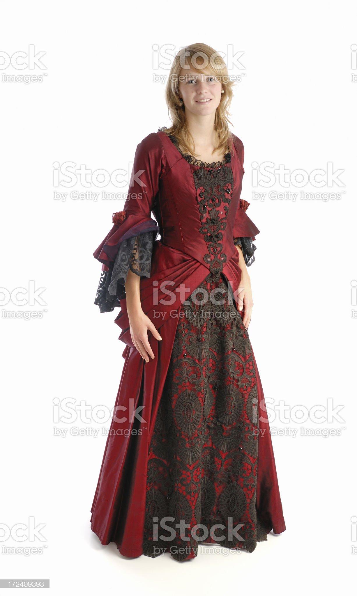 Beautiful fashion outfit royalty-free stock photo