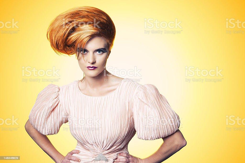 Beautiful Fashionista stock photo