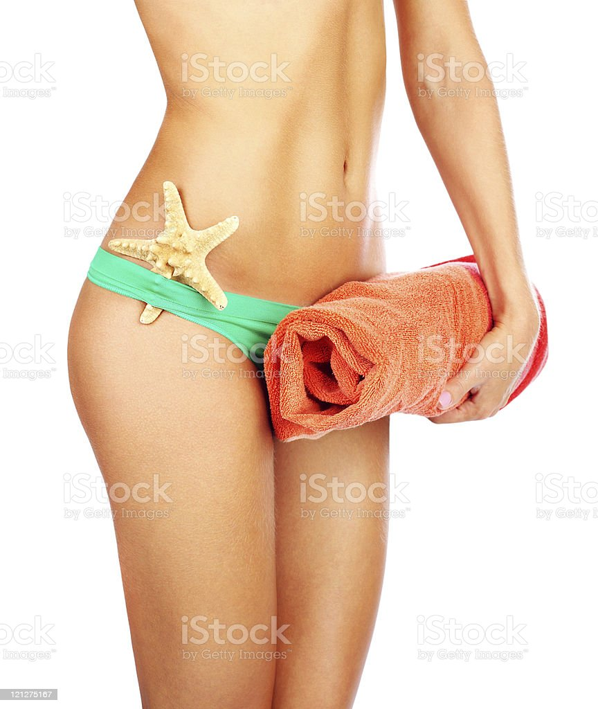Beautiful female body royalty-free stock photo