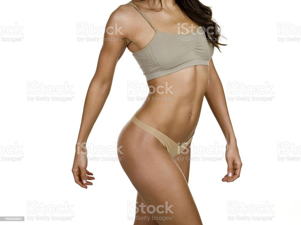 Beautiful female body royalty-free stock photo