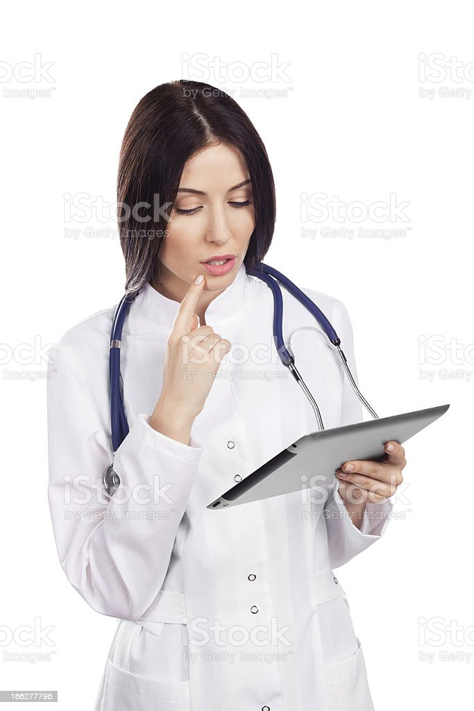 Beautiful Female Doctor royalty-free stock photo