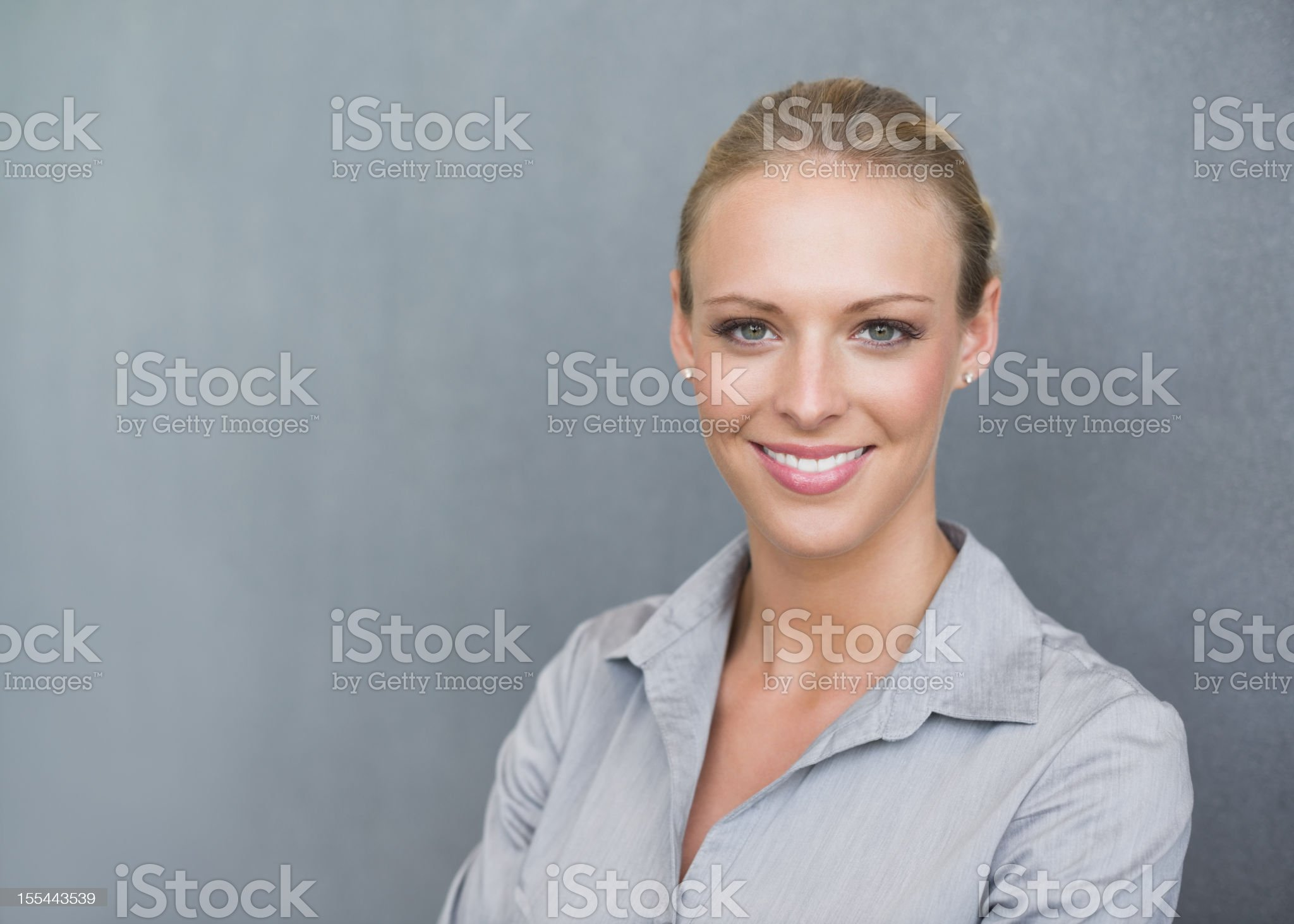 Beautiful Female Professional Smiling royalty-free stock photo