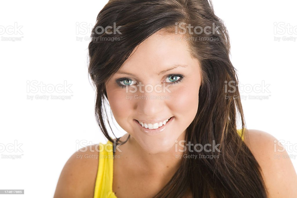 Beautiful Female Teenager royalty-free stock photo