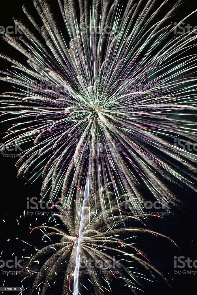Bella Fuochi d'artificio foto stock royalty-free