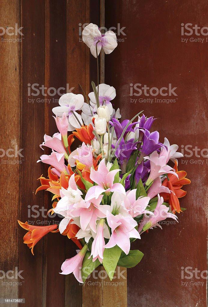 beautiful flower decoration royalty-free stock photo