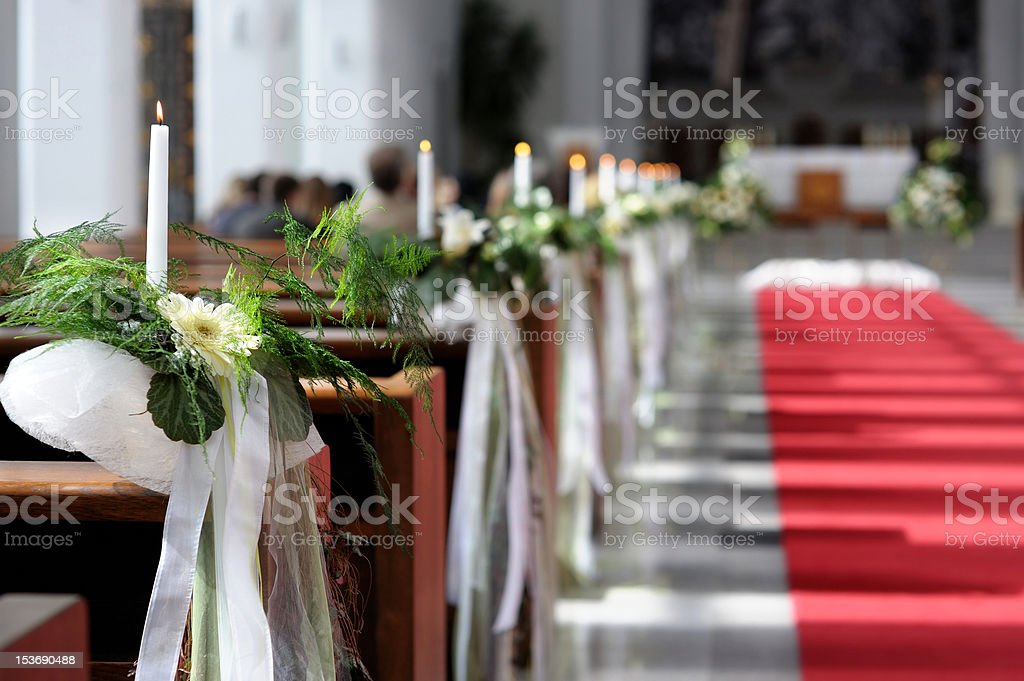 Beautiful flower wedding decoration royalty-free stock photo