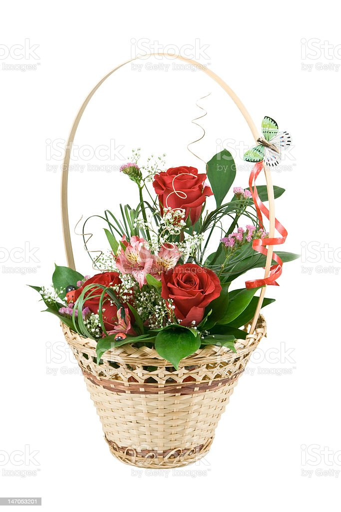 Beautiful flowers for gift royalty-free stock photo