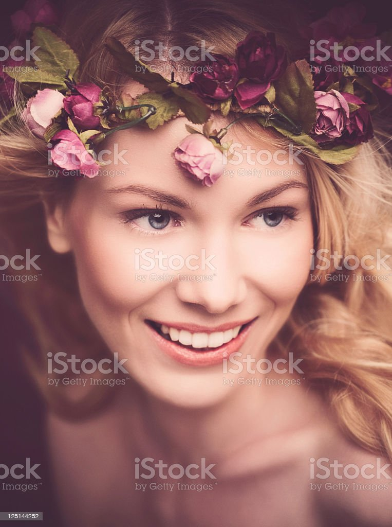 Beautiful Forest Fairy royalty-free stock photo