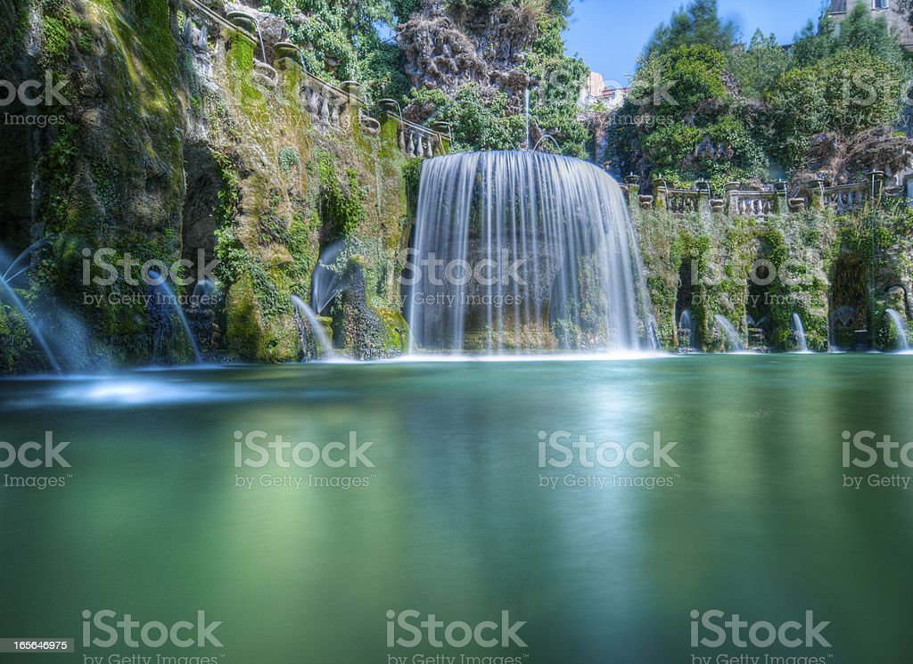 Beautiful Fountain stock photo