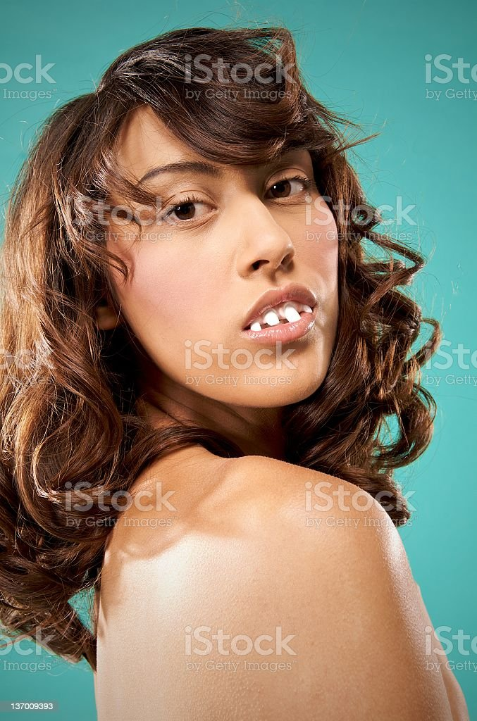 Beautiful Freak royalty-free stock photo