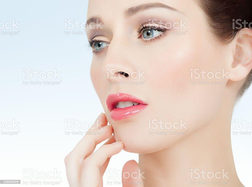 Beautiful Fresh Woman stock photo