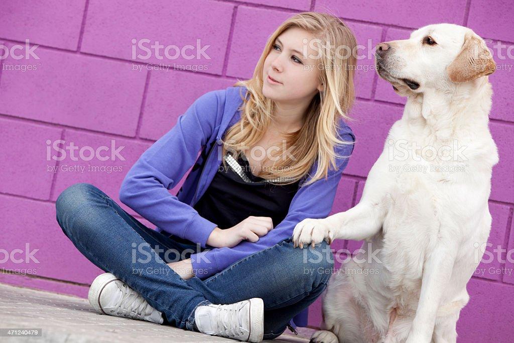 beautiful friendship stock photo