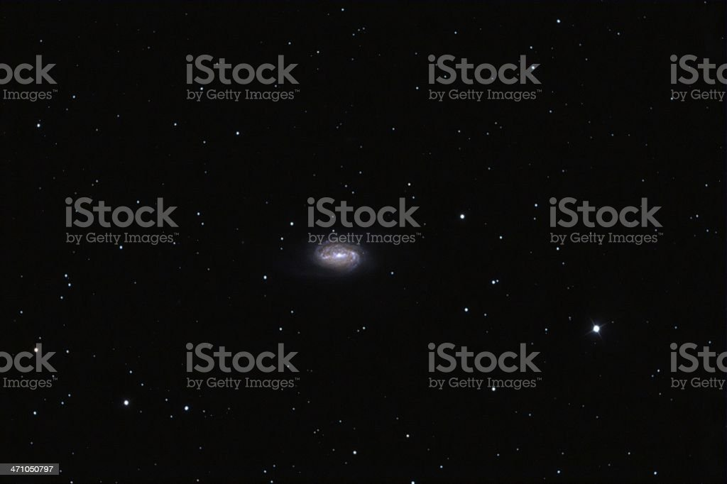 Beautiful galaxy in the constellation lion royalty-free stock photo