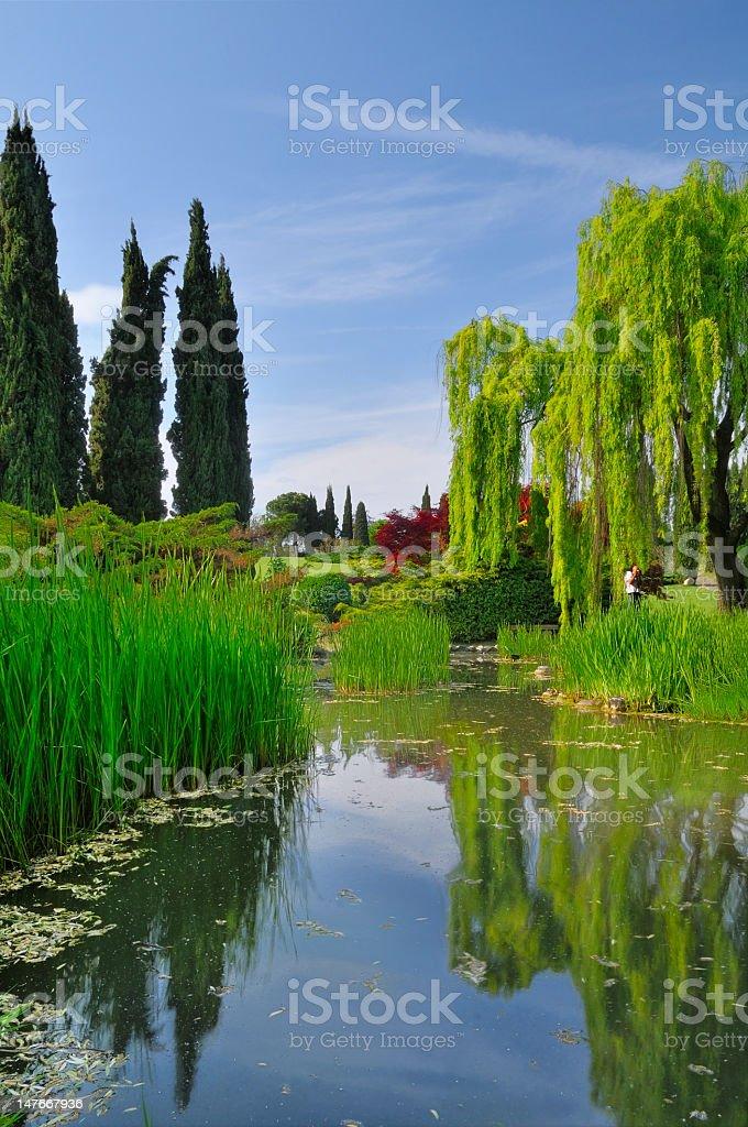 Beautiful Garden (Italy) royalty-free stock photo