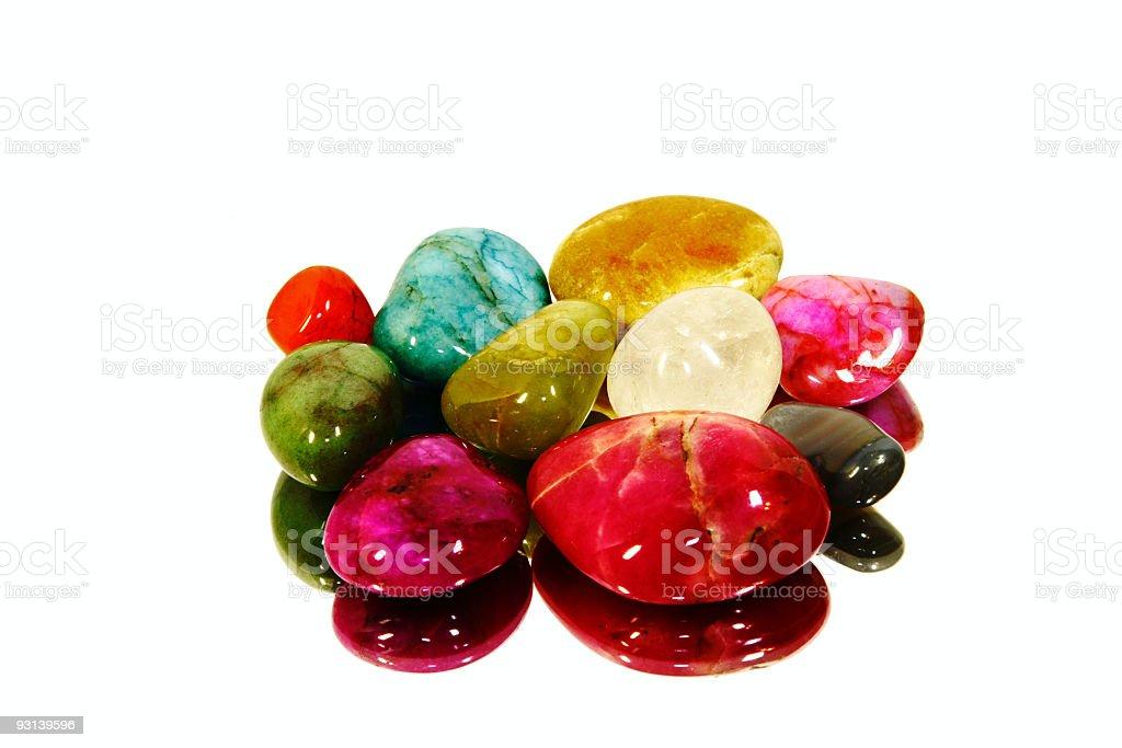 Beautiful Gem Stones royalty-free stock photo