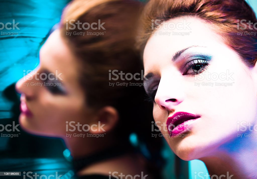 Beautiful Girl - Close Up royalty-free stock photo