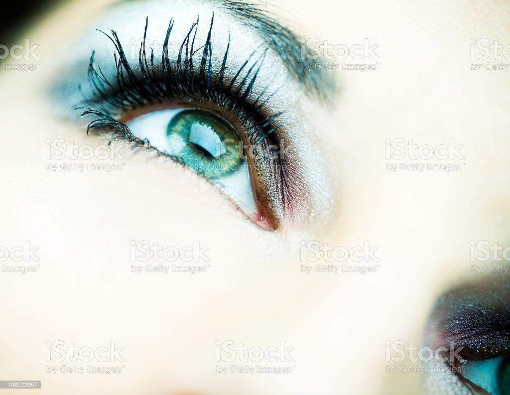 Beautiful Girl - Close Up royalty-free stock photo