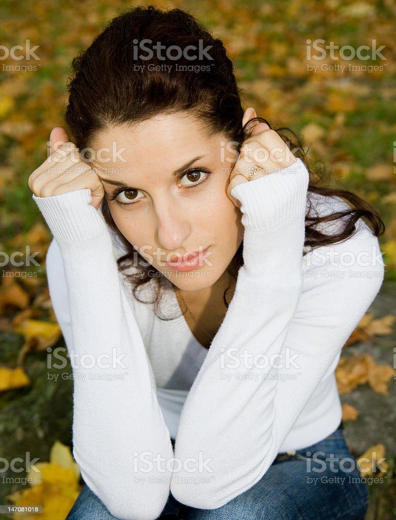 Schöne Mädchen Lizenzfreies stock-foto